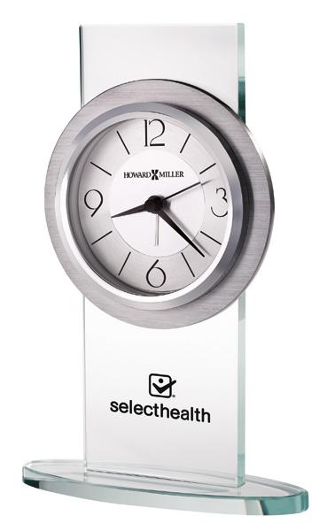 Brookline - Quartz aluminum alarm clock
