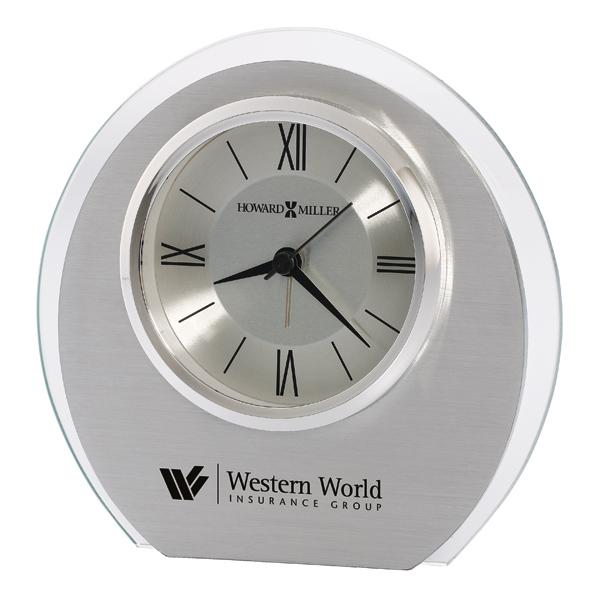 Eclipse - Quartz aluminum alarm clock