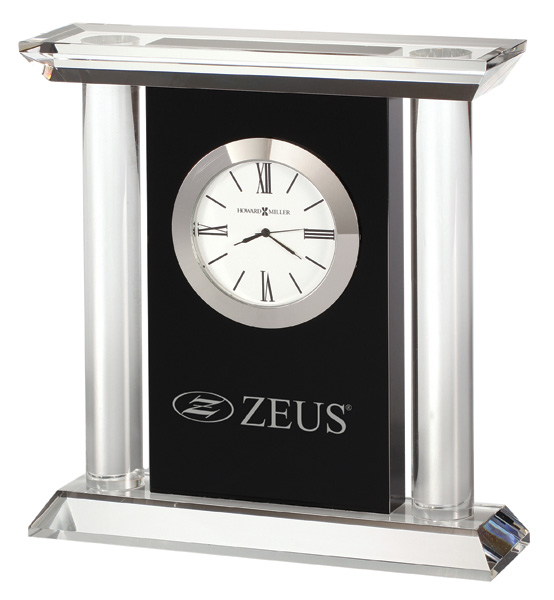 Colonnade - Crystal, carriage style clock
