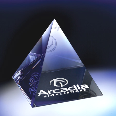 Pyramid Paperweight