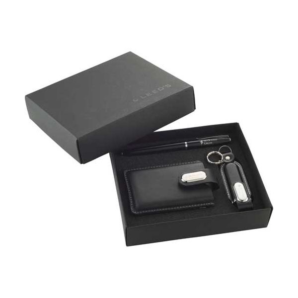 Executive USB Flash Drive Gift Set 1GB