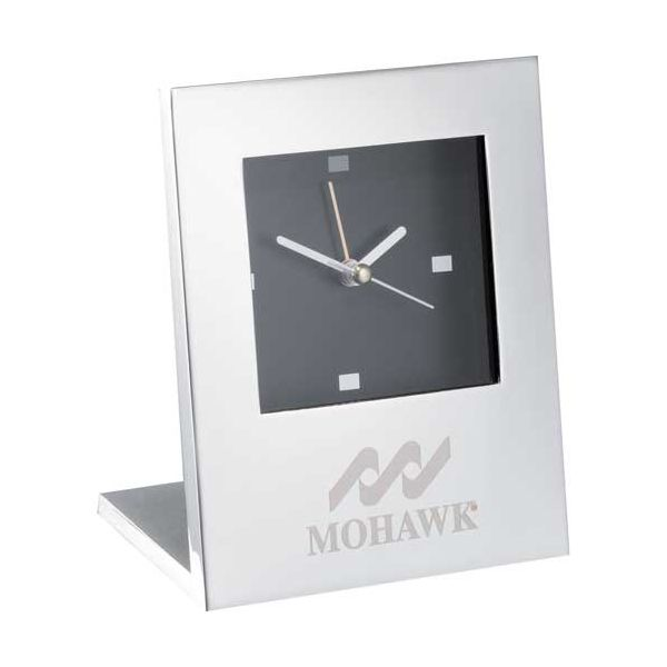 Radiance Silver Plated Alarm Clock