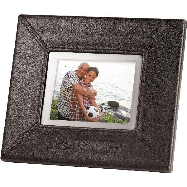 "3.5"" Leather Digital Photo Frame"