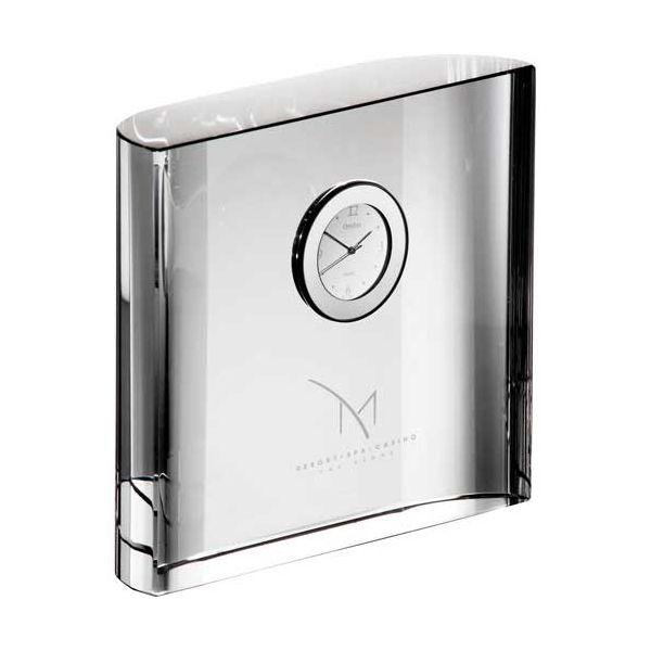 Orrefors Vision Square Desk Clock