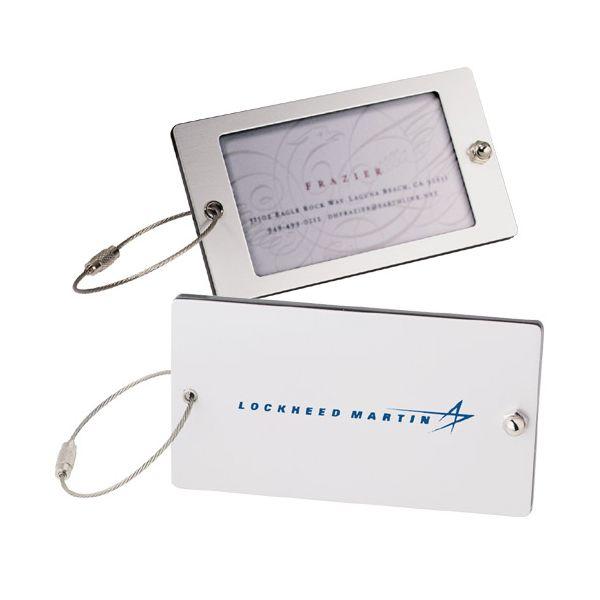 Steel Threads Acrylic Identification Tag