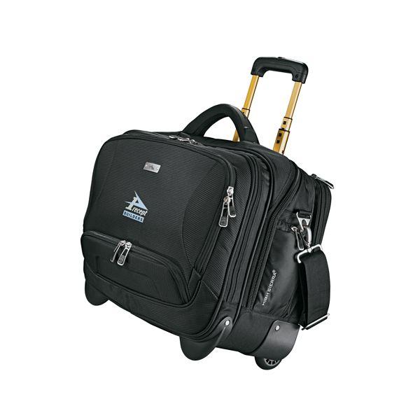 High Sierra® Integral Deluxe Wheeled Bus Compu-Case