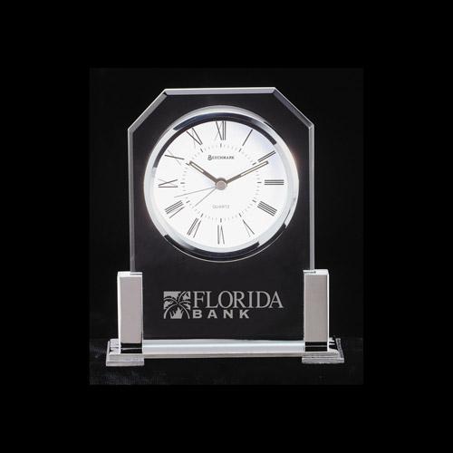 Platinum - Glass Clocks