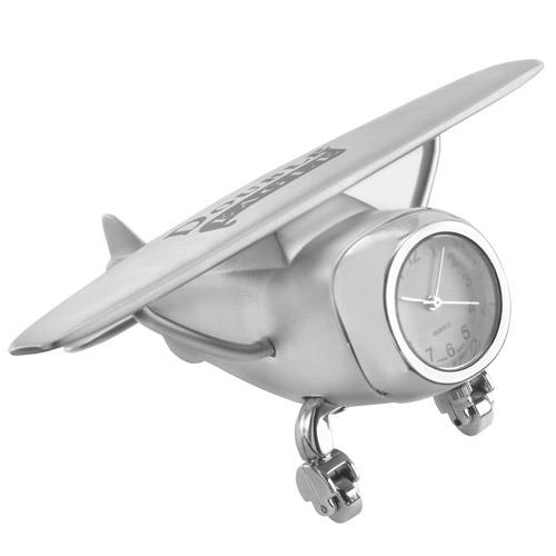 Wright Flyer - Silver and Unique Clocks