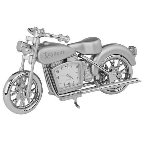 Moto Time - Silver and Unique Clocks