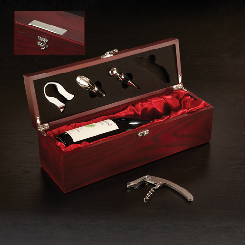 Rosewood Wine Set