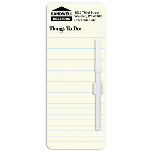 Memo Board Things to Do List w/ Mag - Memo Boards