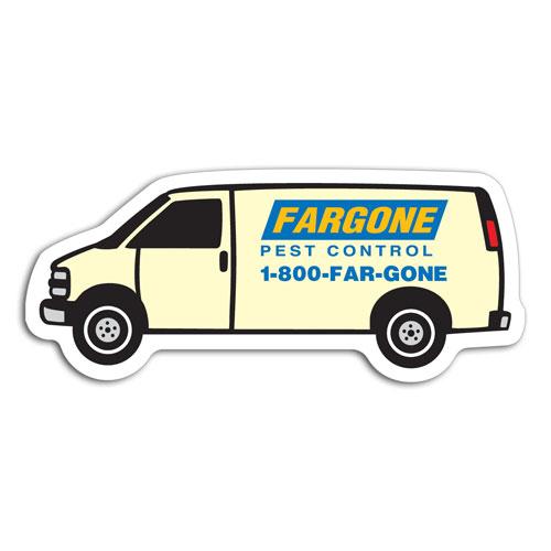 Van - Transportation Stock Magnets