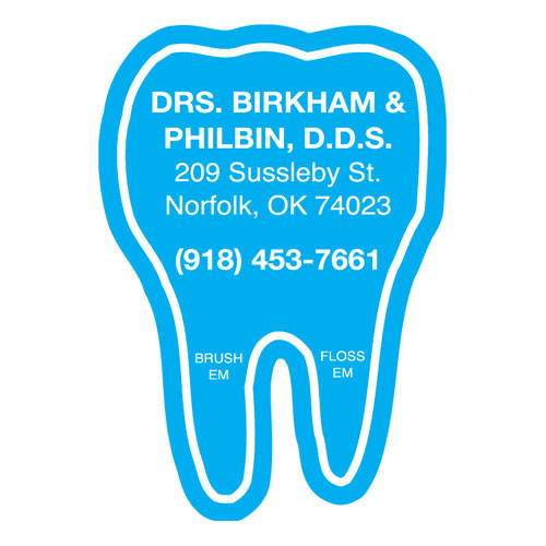 Tooth - Healthcare Stock Magnets
