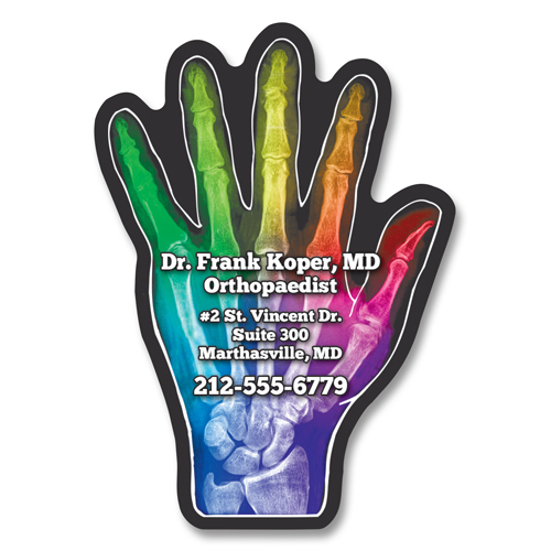 Hand - Healthcare Stock Magnets