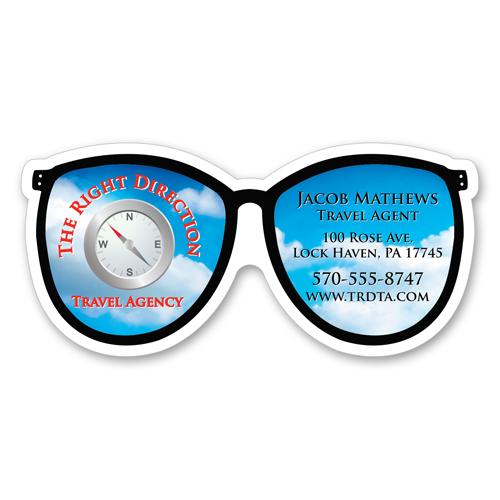Eye Glasses - Healthcare Stock Magnets