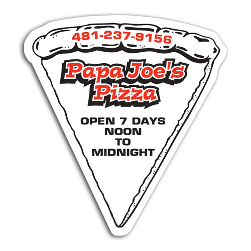 Pizza Slice - Food Stock Magnets