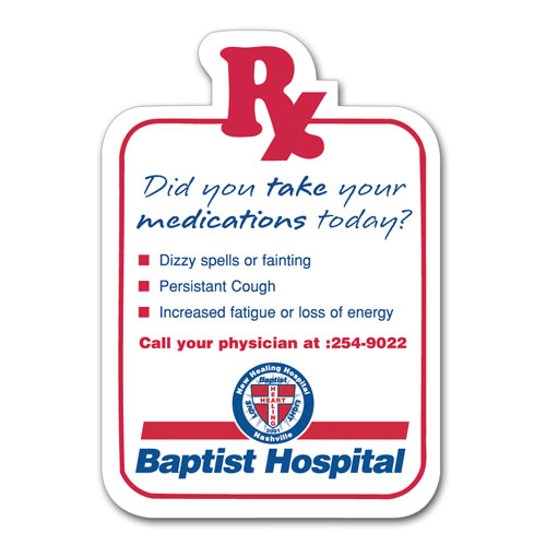 Rx Shape - Healthcare Stock Magnets