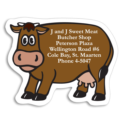Cow - Food Stock Magnets