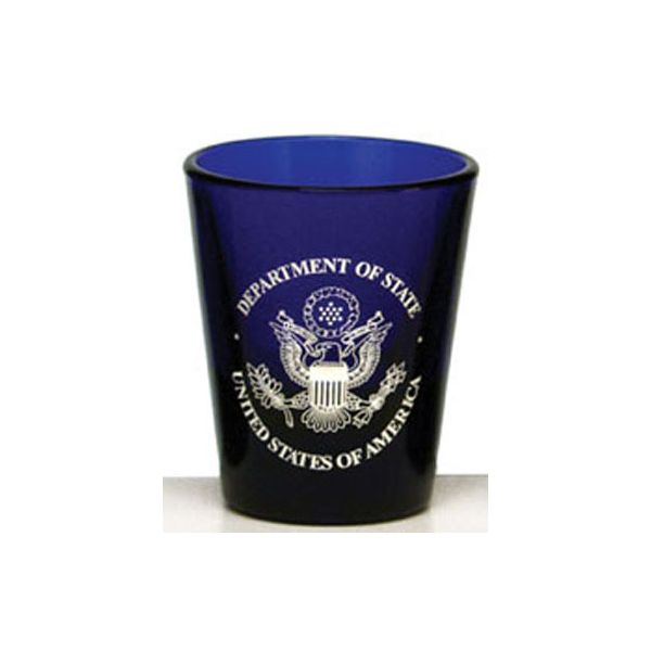 1.75 oz. Blue Shot Glass/ Votive - 1.75 oz. Blue Shot Glass/ Votive
