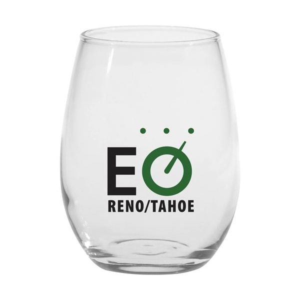9 oz. Stemless White Wine Glass - 9 oz. Stemless White Wine Glass
