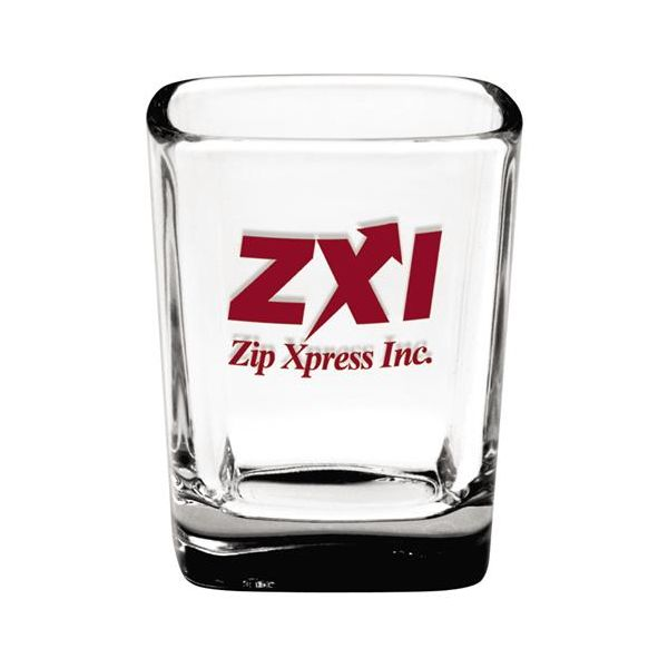 2.25 oz. Square Shot Glass - 2.25 oz. Square Shot Glass