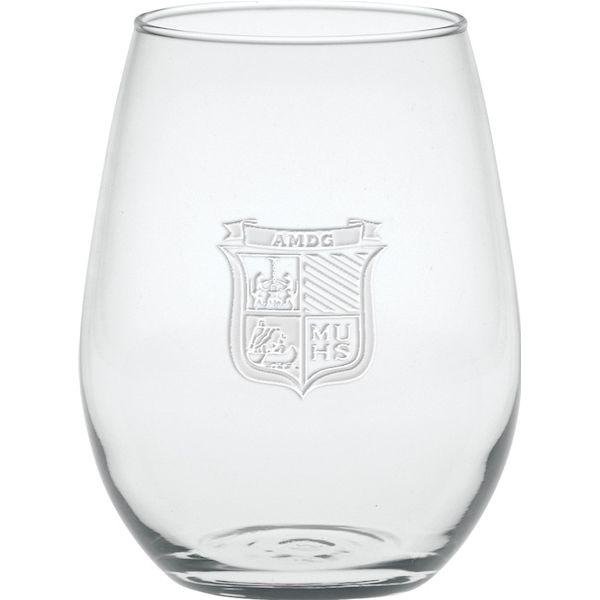 5 oz. Deep Etched Stemless Mini White Wine - 5 oz. Deep Etched Stemless Mini White Wine
