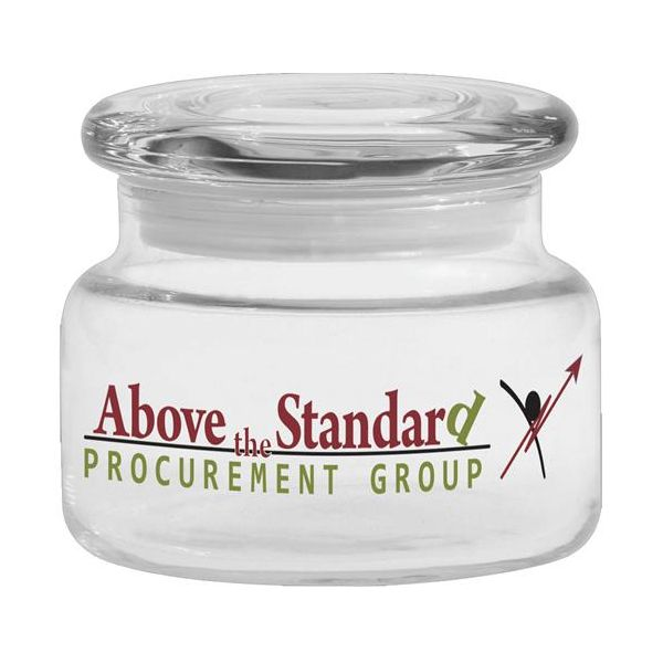 Apothecary Jar with Flat Lid - Apothecary Jar with Flat Lid