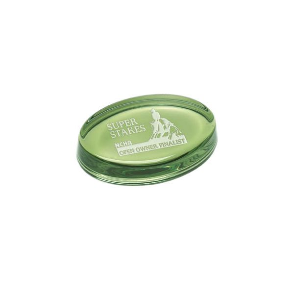 Laser Etched Gemstone Paperweight - Laser Etched Gemstone Paperweight