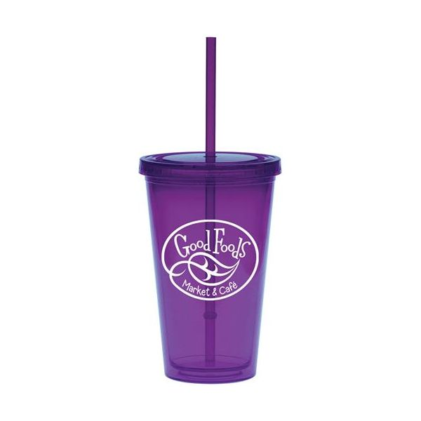 16 oz. Double Wall Carnival Cup - 16 oz. Double Wall Carnival Cup