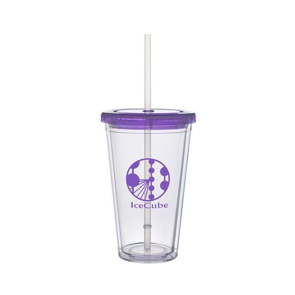 16 oz BPA Free Clear Carnival Cup - 16 oz BPA Free Clear Carnival Cup