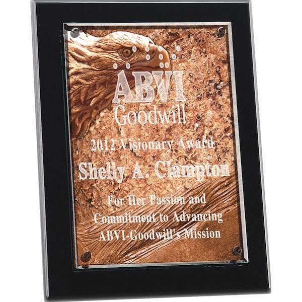 Medium Vertical Terra Pressata Award - Medium Vertical Terra Pressata Award