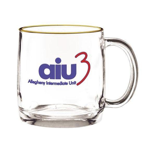 13 oz. Nordic Glass Coffee Mug - 13 oz. Nordic Glass Coffee Mug