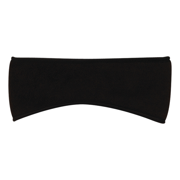 Fleece headband - Fleece headband, all colors are trimmed with black binding