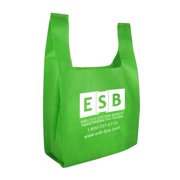 Mahalo Non-Woven Lite Grocery Bag - Mahalo Non-Woven Lite Grocery Bag