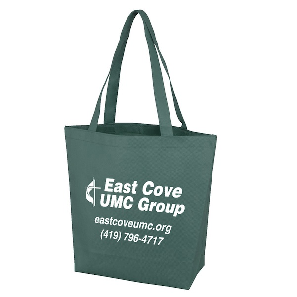 Madison Polytex Small Convention Tote - Madison Polytex Small Convention Tote