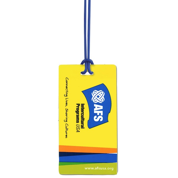 Rectangle Neon Write-On-Back Tag - Rectangle Neon Write-On-Back Tag