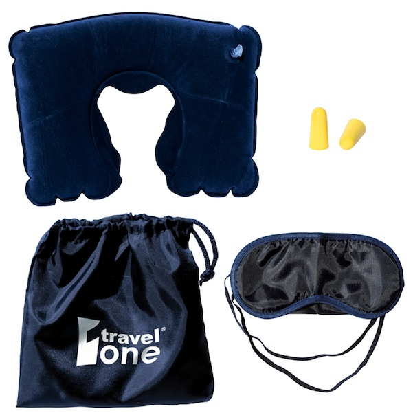 Travel Kit with Neck pillow - Travel Kit with Neck pillow