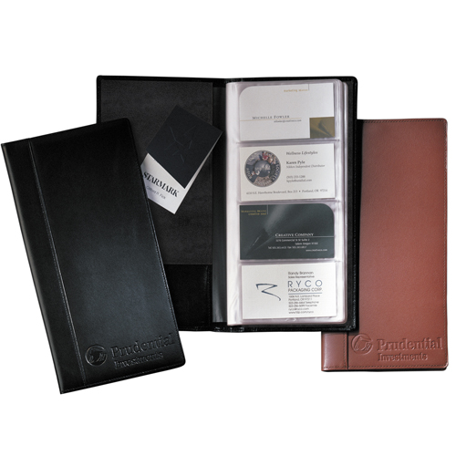 Leeman Greenwich Business Card File-Large (cowhide)
