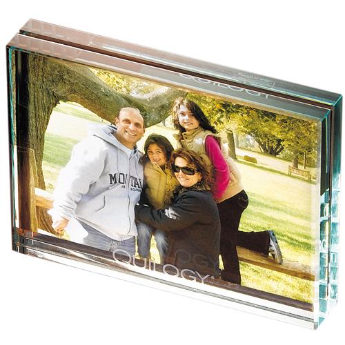 Leeman Atrium Glass Desk Frame-Medium