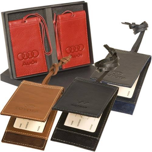 Leeman Barclay Magnetic Luggage Tag Set