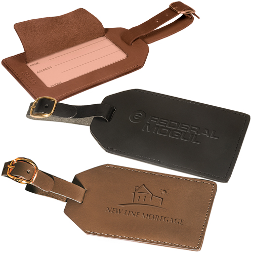 Leeman Grand Central Luggage Tag (calfskin)