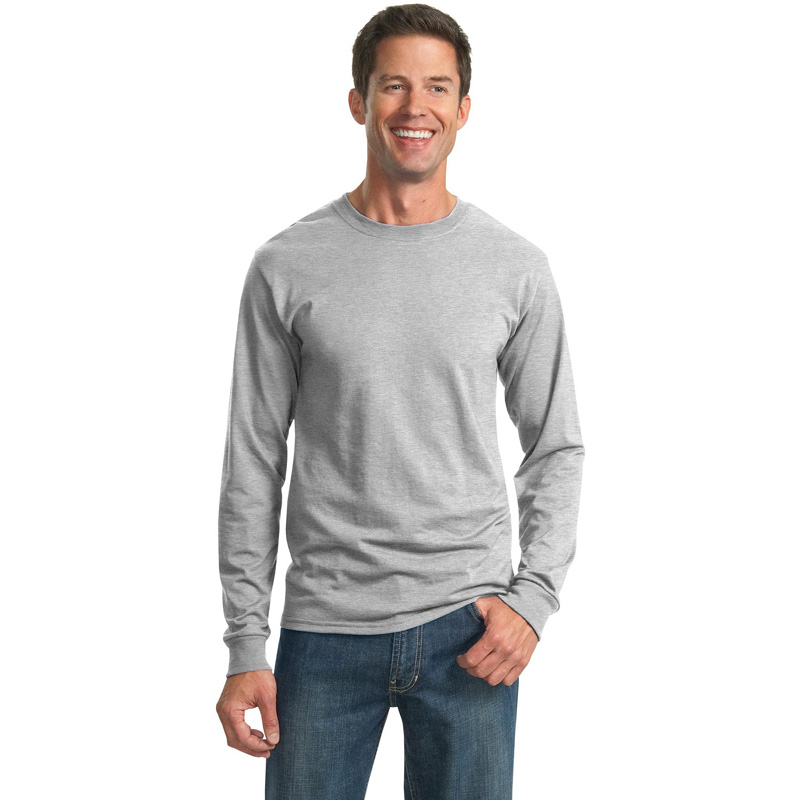 JERZEES ®  - Dri-Power ®  Active 50/50 Cotton/Poly Long Sleeve T-Shirt.  29LS
