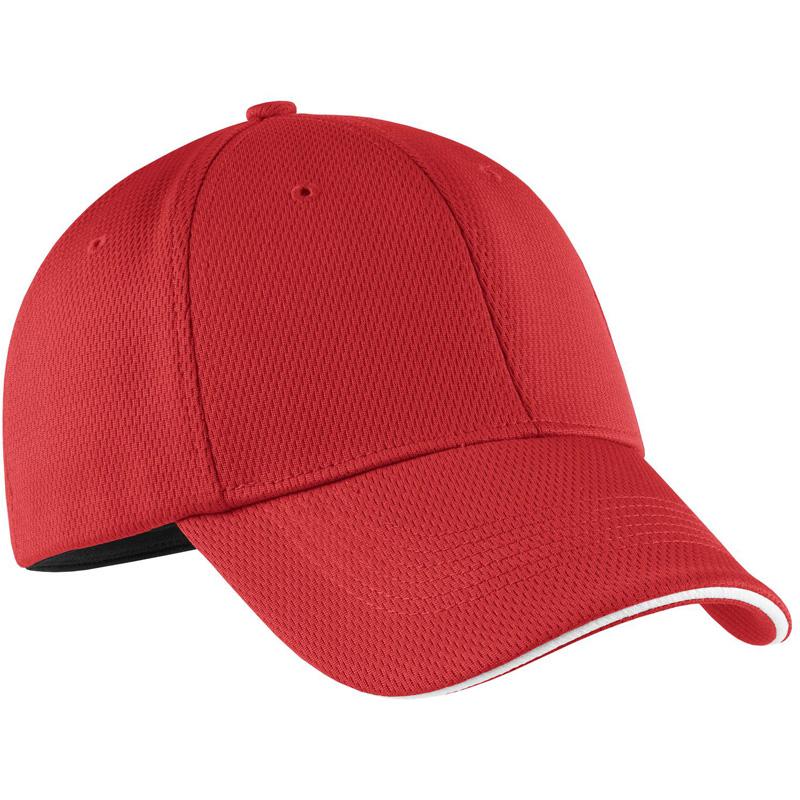 Nike Golf - Dri-FIT Mesh Swoosh Flex Sandwich Cap.  333115