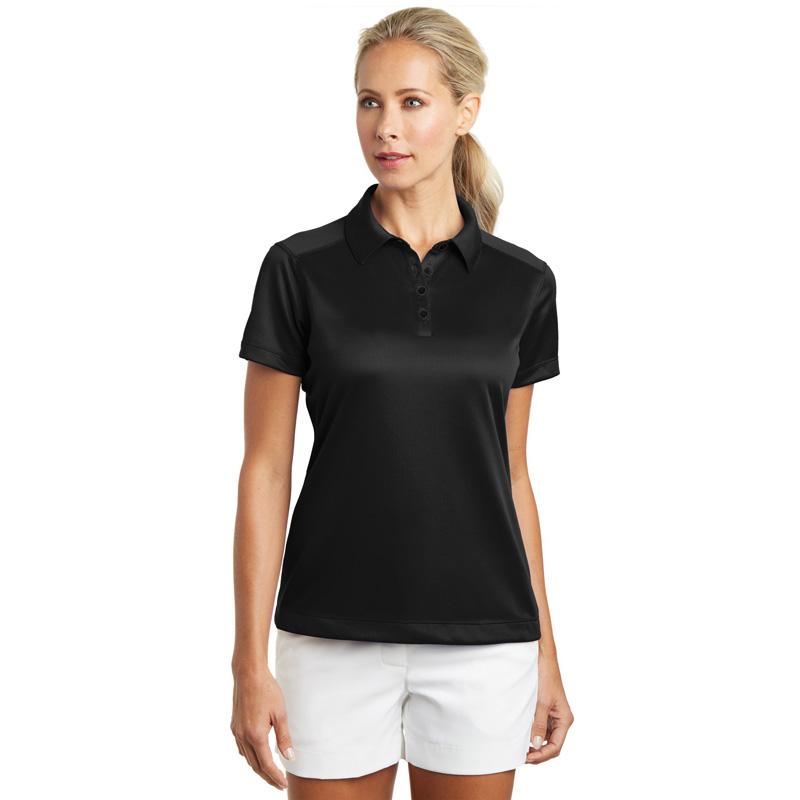 Nike Golf - Ladies Dri-FIT Pebble Texture Polo. 354064