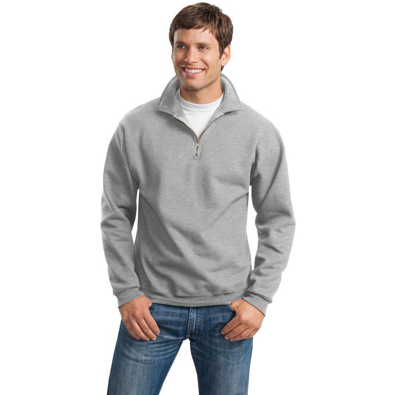JERZEES ®  SUPER SWEATS ®  - 1/4-Zip Sweatshirt with Cadet Collar.  4528M