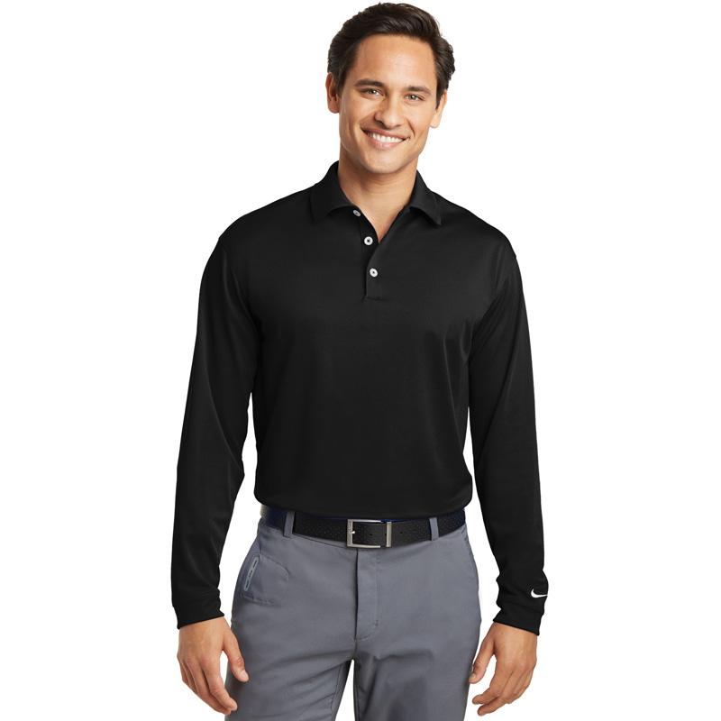 Nike Golf Tall Long Sleeve Dri-FIT Stretch Tech Polo. 604940