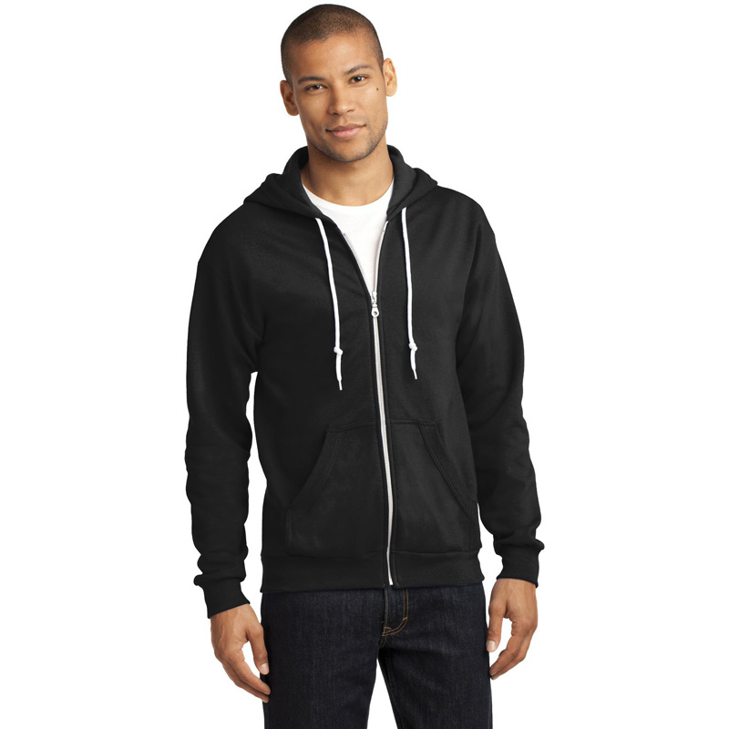 Anvil ®  Full-Zip Hooded Sweatshirt. 71600