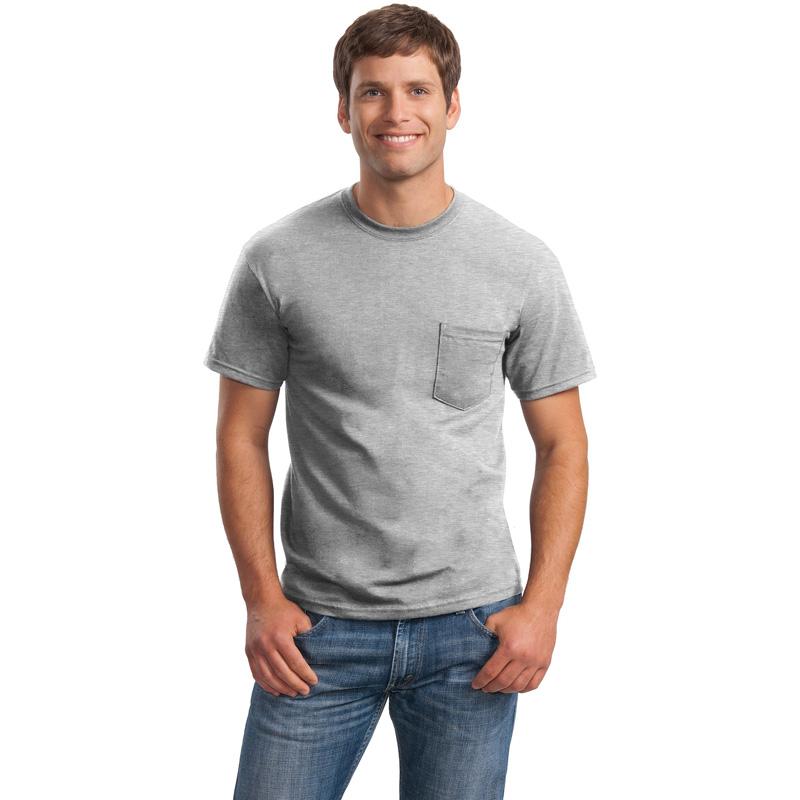 Gildan ®  - DryBlend ®  50 Cotton/50 Poly Pocket T-Shirt. 8300