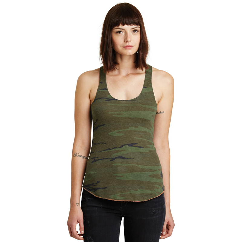Alternative ®  Meegs Eco-Jersey Racer Tank. AA1927