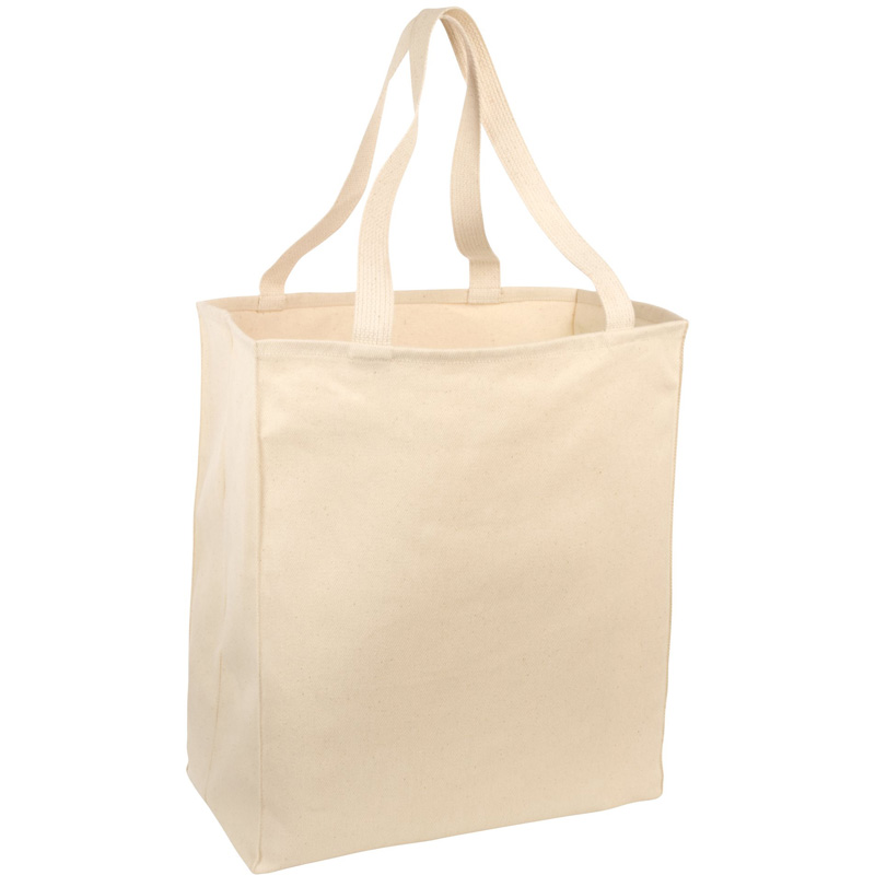 Port & Company ®  Over-the-Shoulder Grocery Tote. B110